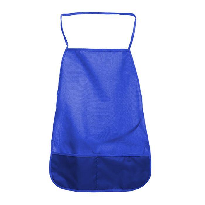 Фартук для труда Creativiki ткань, однотонный синий 3+