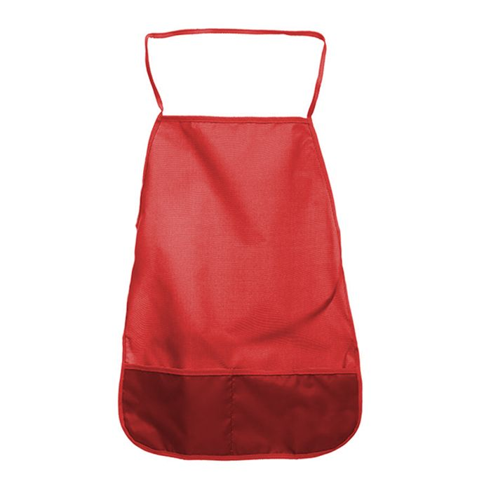 Фартук для труда SchoolФОРМАТ ткань, однотонный красный 3+