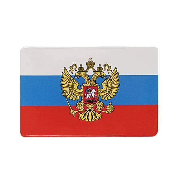 Обложка для проездного билета ТРИКОЛОР 64Х96 мм ПВХ