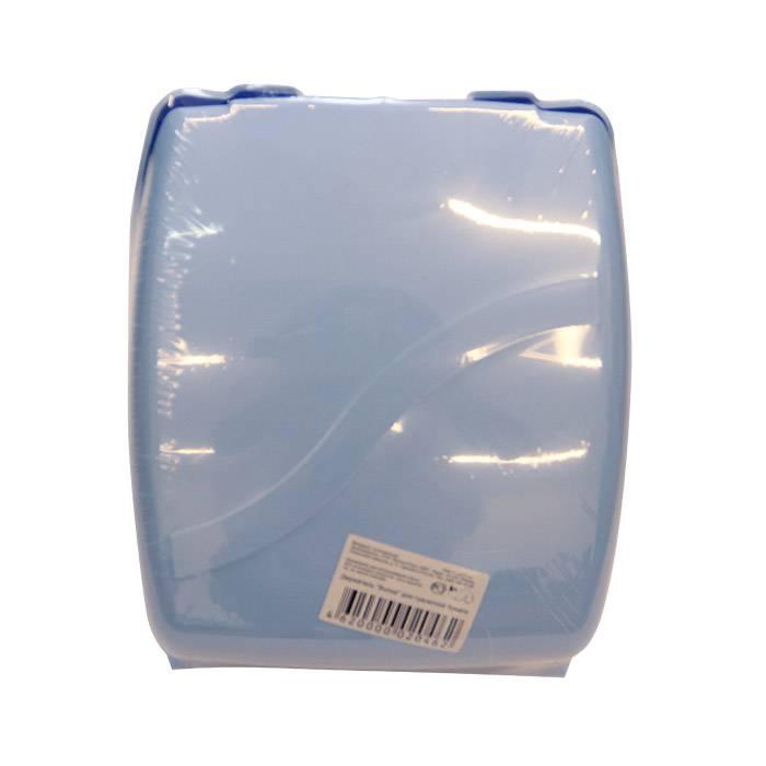 Держатель для туалетной бумаги ВОЛНА, пластик, универсальный
