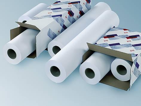 Бумага Oce LFM116 Top Label Paper 75 г/м2, 0,84х200м