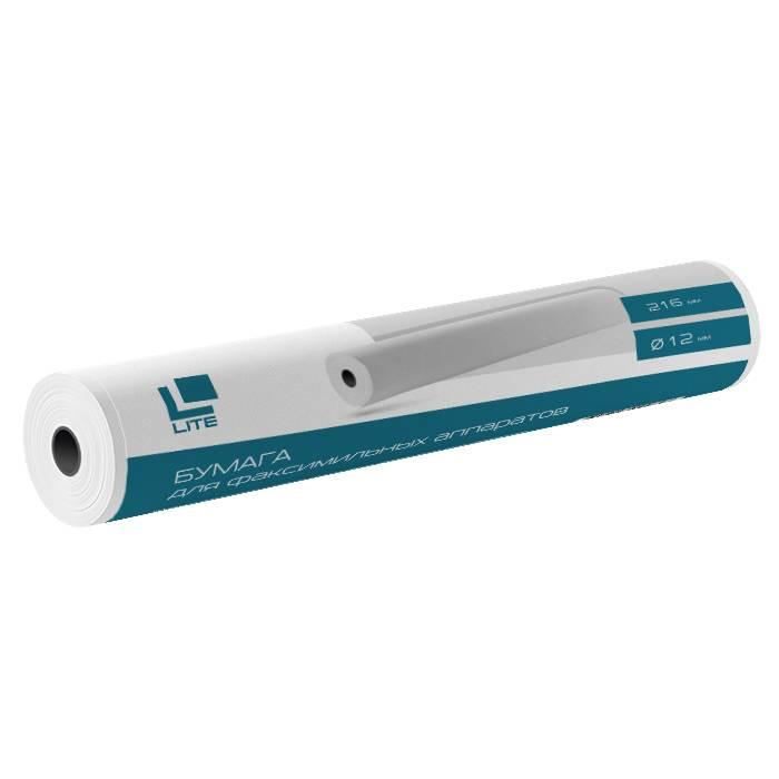 Ролик для факсов LITE 216 мм 12 мм (23м) термо