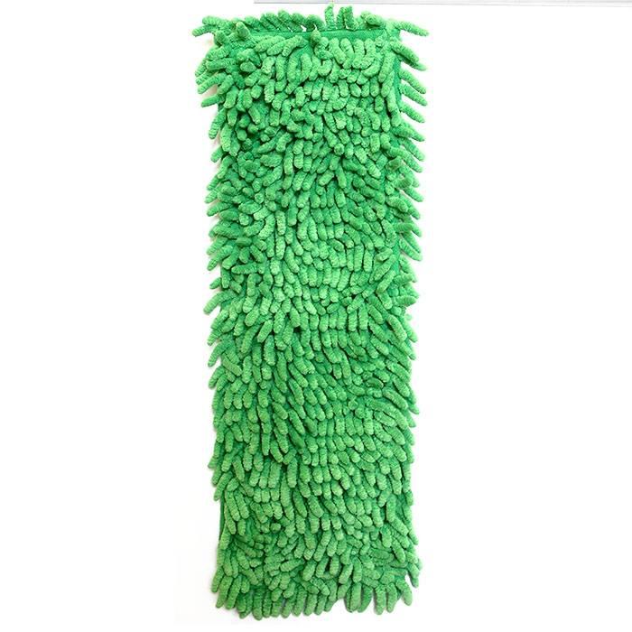 МОП для швабры ФЛЕТТЕР микрофибра-лапша 42х12 см оранж/зел. (швабра 162903)
