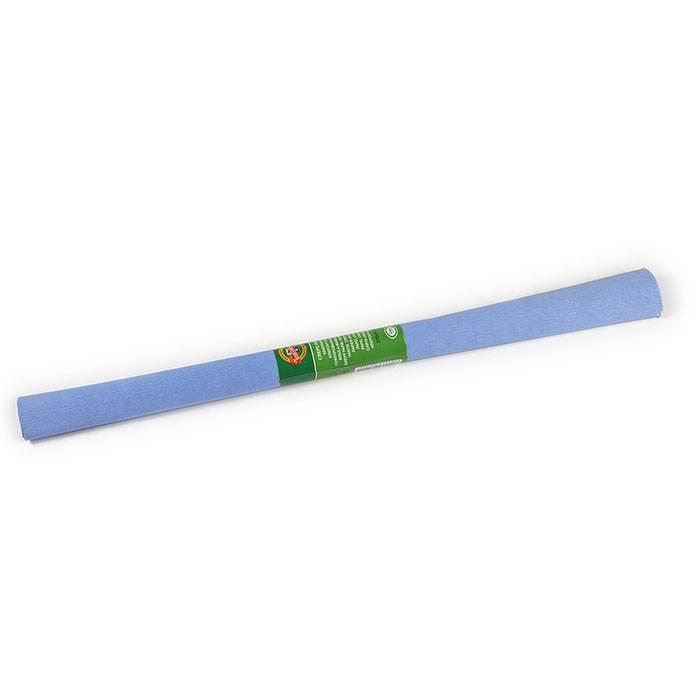 Бумага цветная крепированная KOH-I-NOOR голубое небо 50х200 см, 32 г/м2 в рулоне