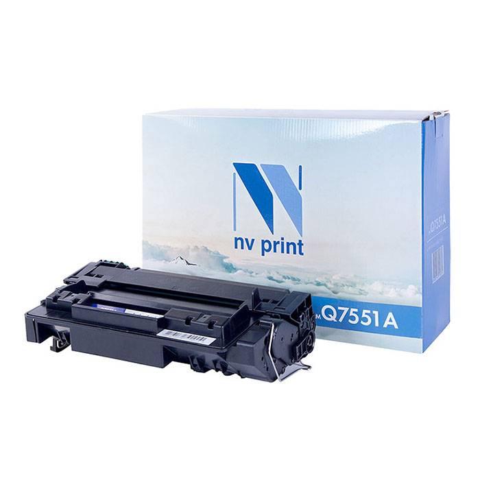 Картридж лазерный NV Print для HP Q7551A для LJ P3005-P3005x/M3027-M3035xs черный, 6500 страниц