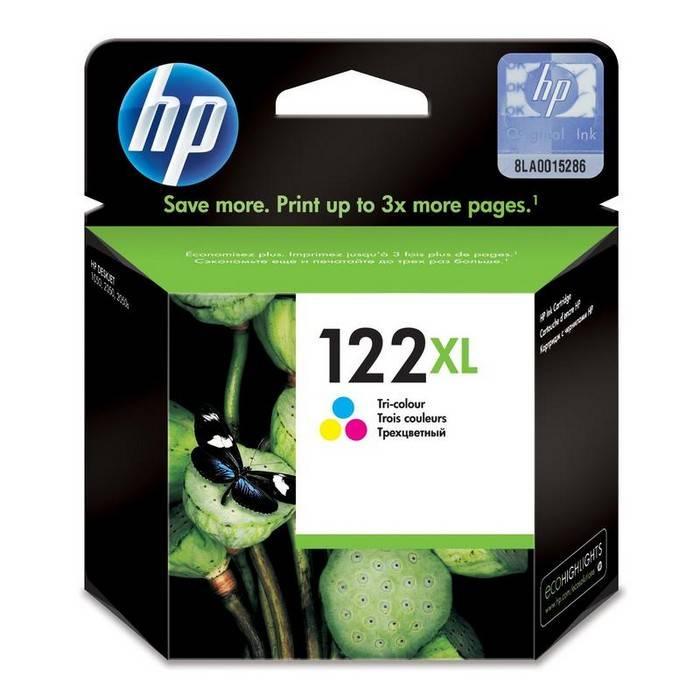 Картридж струйный HP 122XL CH564 цветной 330 стр для HP DJ 1050A/2050A/3000