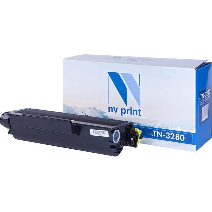 Картридж NVP совместимый Brother TN-3280 для HL-5340D/5350DN/5370DW/MFC-8370/8880/DCP-8085/8070D (8000k)