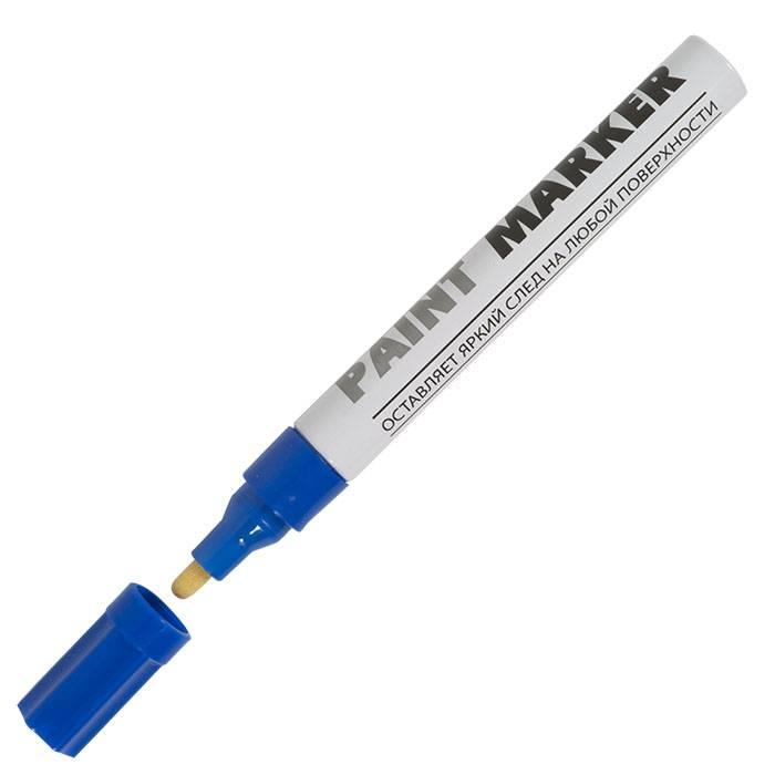 Маркер-краска inФОРМАТ PAINT PROFESSIONAL 4 мм синий круглый нитро-основа