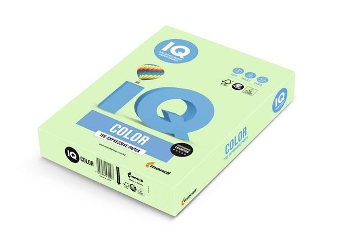 Бумага IQ COLOR 250 л. 160 г/м2 А4 пастель зеленый