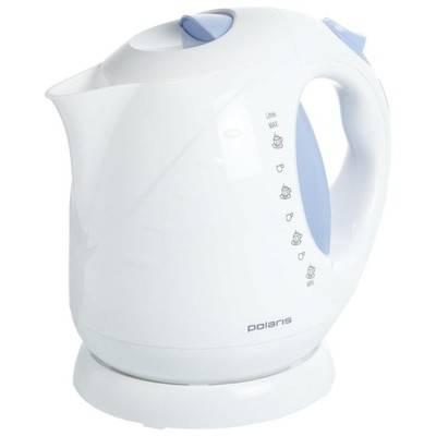 Чайник POLARIS PWK 2013C 2000 Вт 2 л белый/синий