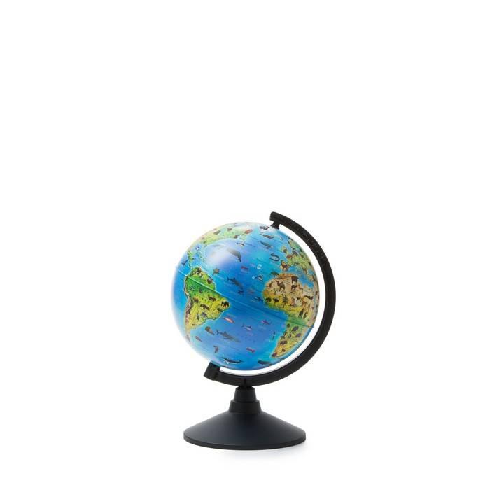 Глобус ГЛОБЕН Зоогеографический (детский) 21 см