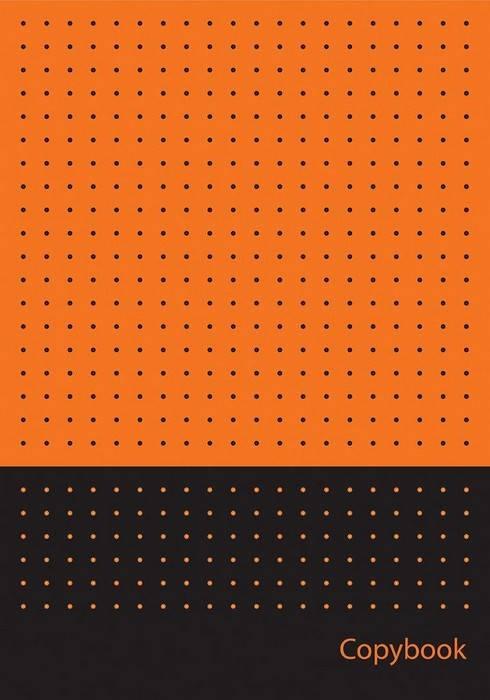 Тетрадь 80 л., А4, клетка, PANTONE, флоуресцентные краски, мелованный картон, выборочный УФ-лак