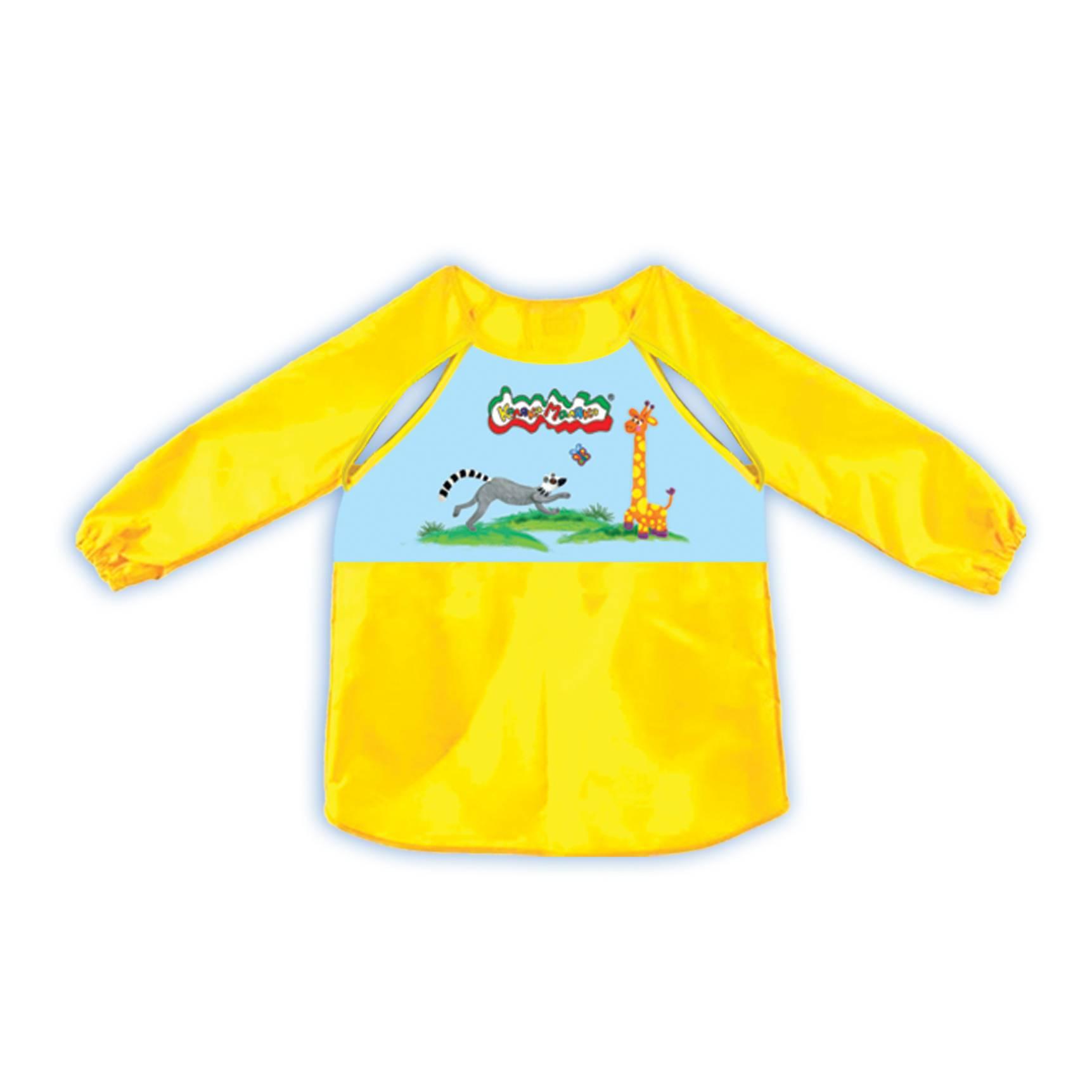 Фартук-накидка д/труда Каляка-Маляка для малышей, на рост 92-98 см, с рукавами и вырезами для терморегуляции