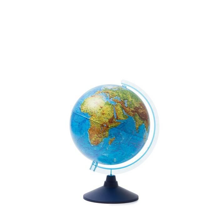Глобус Земли физич. 25,00 см