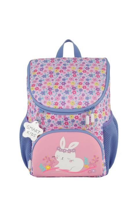 Рюкзак-мини, TIGER FAMILY МАЛЫШ РУБИ, 31х24х16 см, розовый, ткань, светоотражающий брелок, пайетки