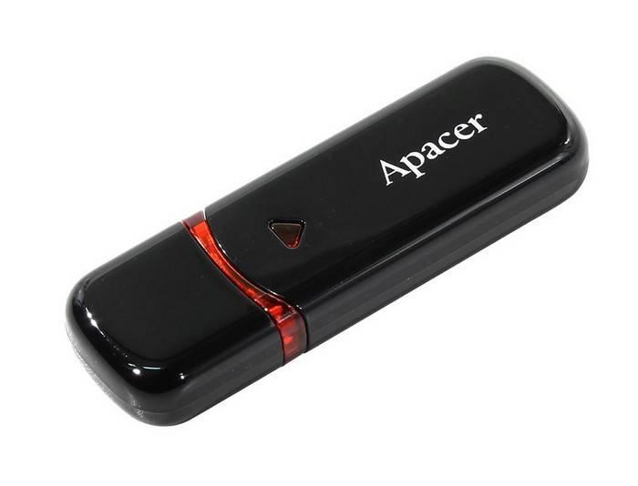 Флэш-память APACER AH333 64 Гб черный