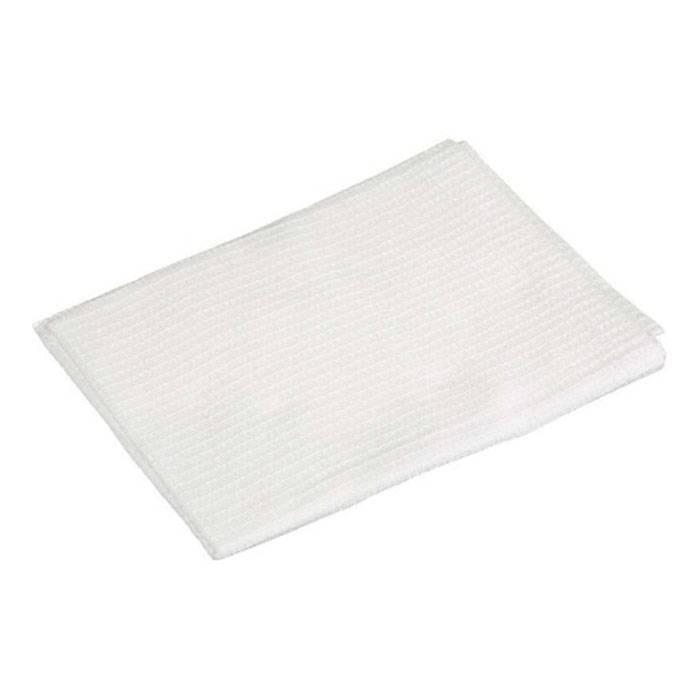 Полотенце вафельное 1-2 Pro универсальное белое 40х80 120 г/м2