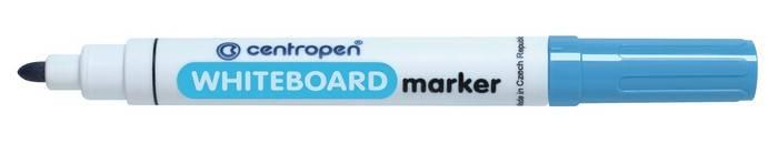 Маркер для белых досок CENTROPEN BOARD 2,5 мм голубой, круглый