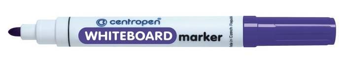 Маркер для белых досок CENTROPEN BOARD 2,5 мм, фиолетовый, круглый
