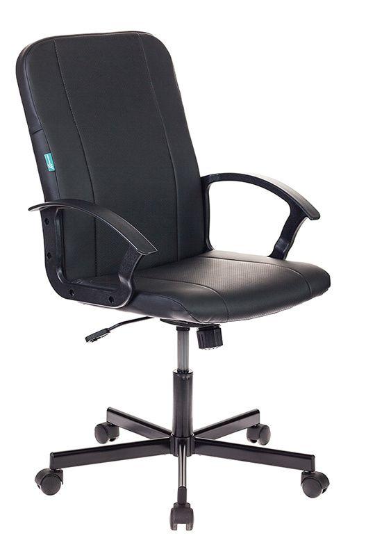 Кресло руководителя БЮРОКРАТ CH-551 черное, иск. кожа