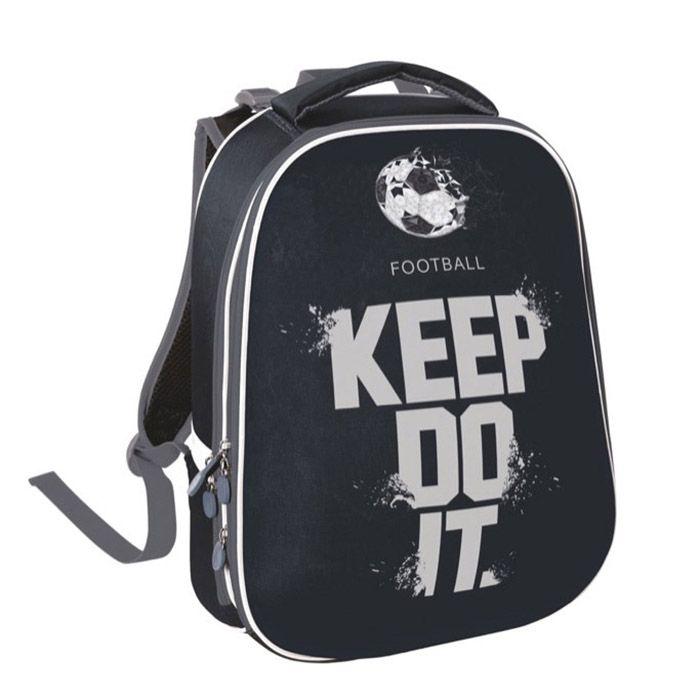 Рюкзак жесткокаркасный 2-секц. Schoolformat, модель ERGONOMIC 2, серия ФУТБОЛЬНАЯ ТЕМА