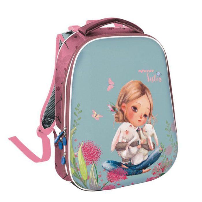 Рюкзак жесткокаркасный 2-секц. Schoolformat, модель ERGONOMIC 2, серия НЕЖНОСТЬ