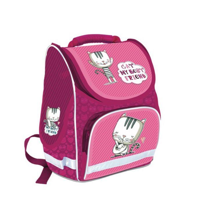 Рюкзак жесткокаркасный Schoolformat, модель BASIC, серия МИ-МИ КОТИК