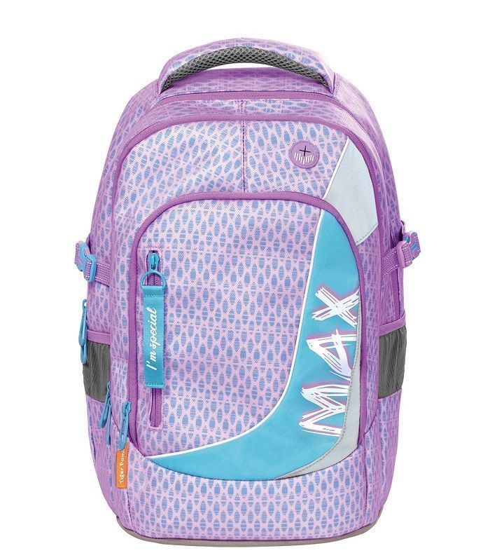 Рюкзак TIGER MAX ОДУВАНЧИК, 26 л, 43х33х23 см, ткань, молния, для девочек