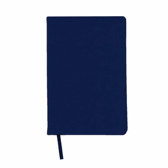 Ежедневник недатированный, А5, LITE DERBI, 136 л., твердая обложка, синий, ляссе, тонированная бумага