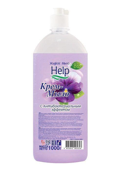 Крем-мыло HELP с антибактериальным эффектом 1000 г