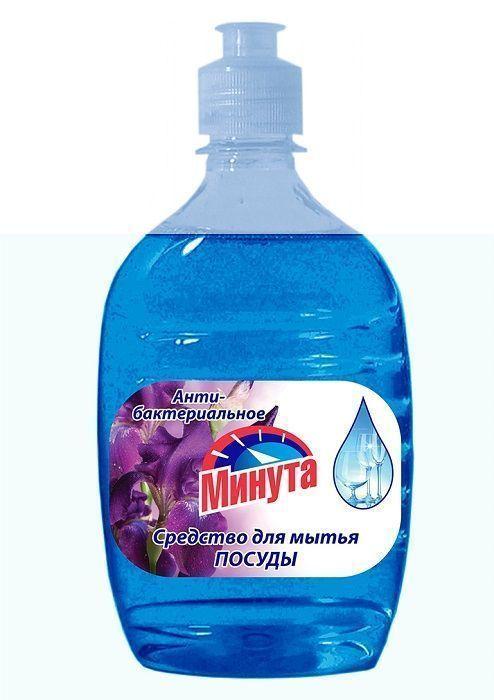 Ср-во для посуды МИНУТА антитабактериальное 500 г