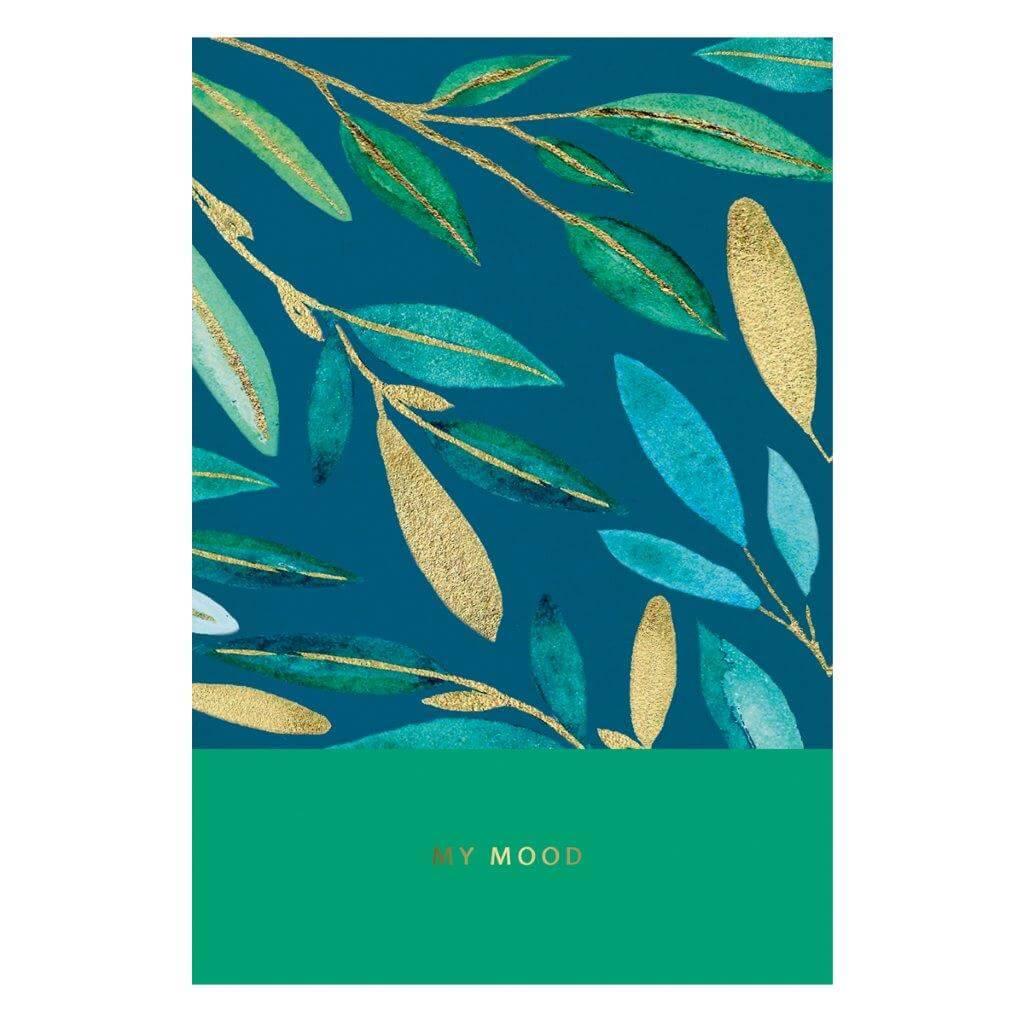 Книжка записная, А5, 64 л., тематическая линовка, МОЁ НАСТРОЕНИЕ, твердая обложка,матовая ламинация