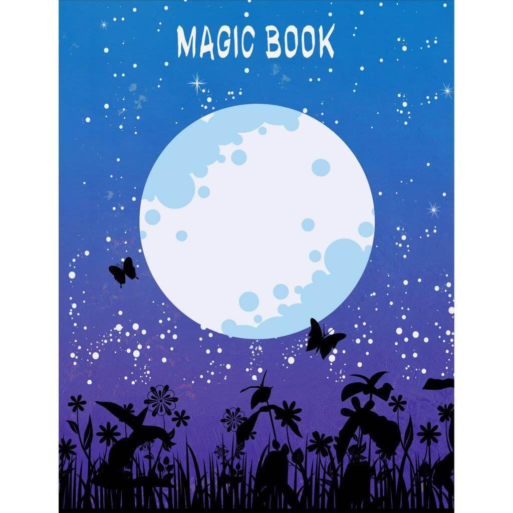 Книжка записная, А6+, 96 л., MY MAGIC, интегральная обложка, soft touch, дизайнерский внутренний блок