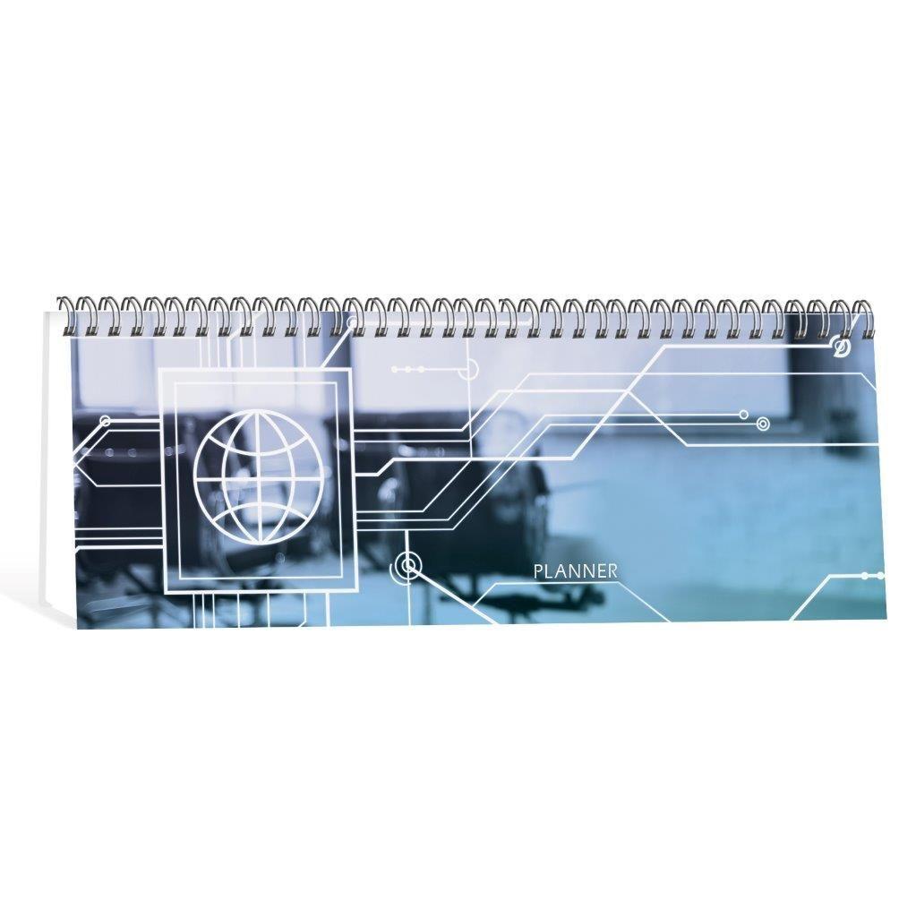 Планинг недатированный СХЕМА 56 л., 7БЦ, глянцевая ламинация