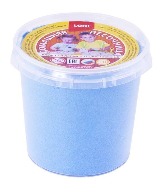 Домашняя песочница ГОЛУБОЙ ПЕСОК 0,5 кг