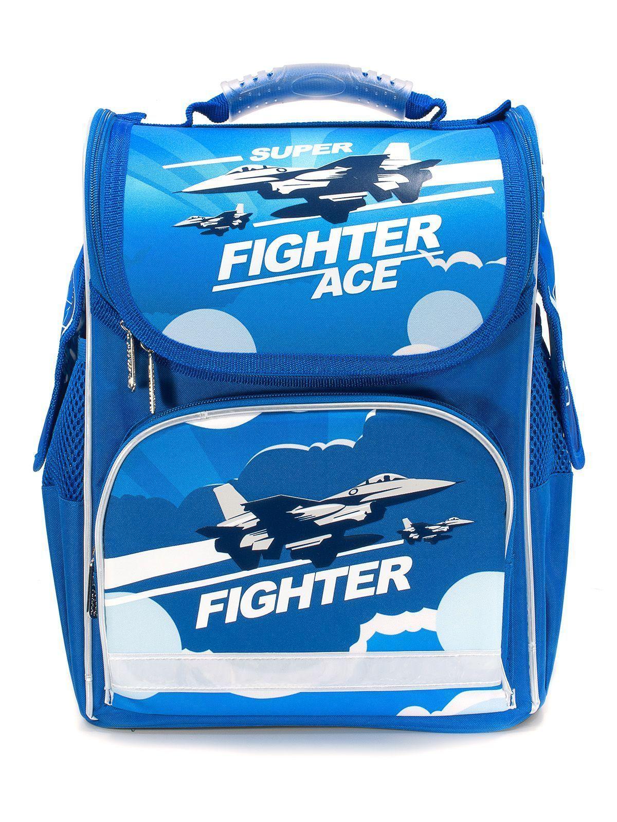 Рюкзак Schoolformat Air fighter, модель BASIC, жесткий каркас, односекционный, 38х28х16 см, 15 л, для мальчиков