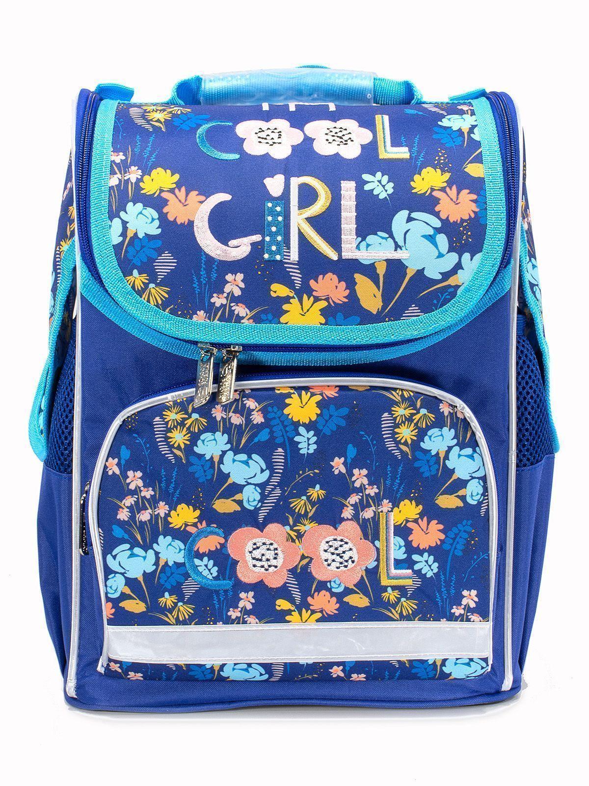 Рюкзак Schoolformat Cool girl, модель BASIC, жесткий каркас, односекционный, 38х28х16 см, 15 л, для девочек