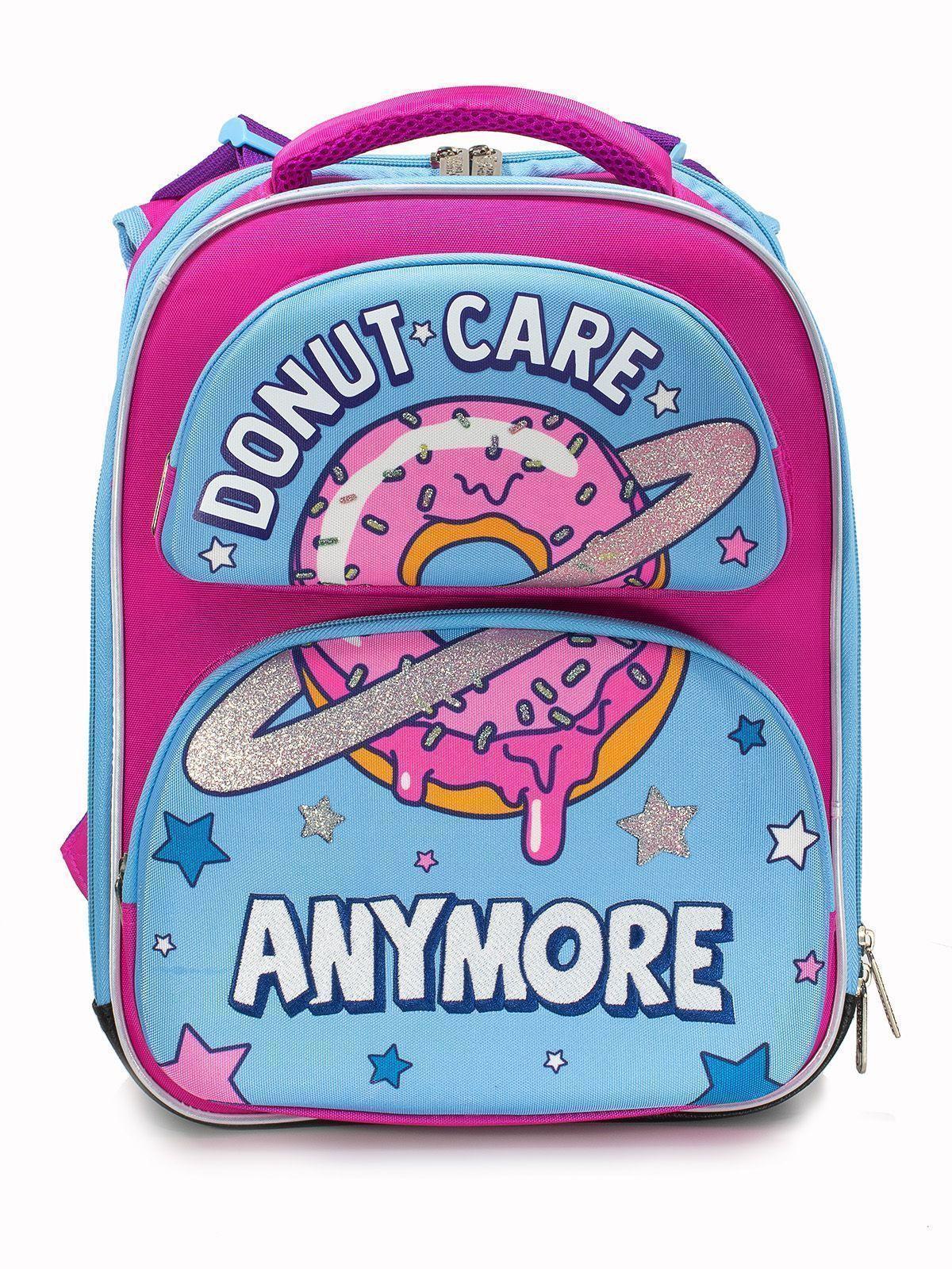 Рюкзак Schoolformat Donut worry, модель ERGONOMIC 2Е, 38х29х18 см, 17 л, для девочек
