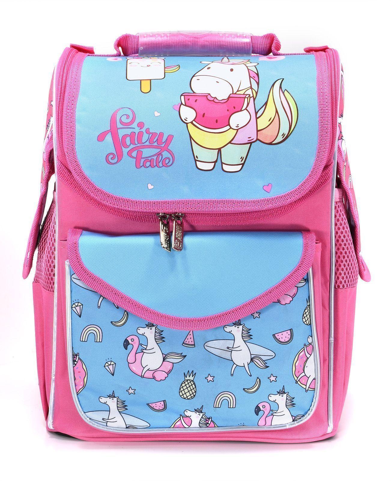 Рюкзак Schoolformat Unicorn, модель BASIC, жесткий каркас, односекционный, 36х26х20 см, 15 л, для девочек