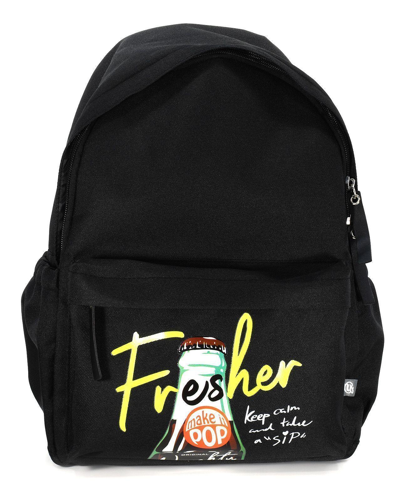 Рюкзак Schoolformat Stay fresh, модель SOFT, мягкий каркас, односекционный, 38х28х16 см, 15 л, универсальный