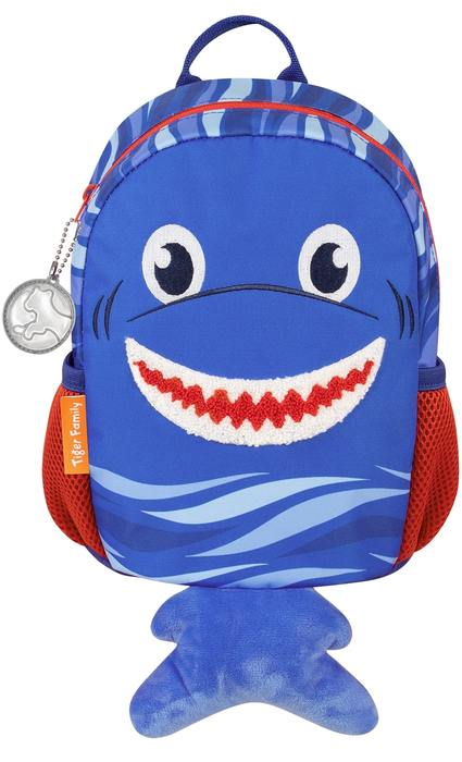 Рюкзак TIGER SMART KIDS SILLY SHARK 26х20х15 см ткань для мальчиков