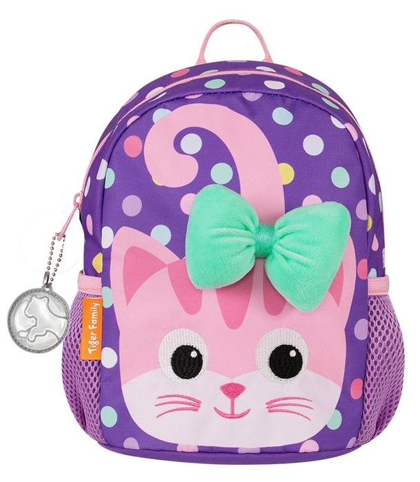 Рюкзак TIGER SMART KIDS WHIMSICAL KITTEN 26х20х15 см ткань для девочек