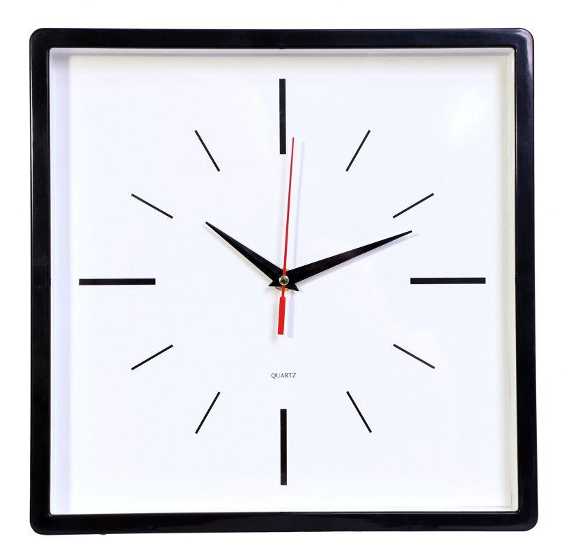 Часы настенные БЮРОКРАТ WALLC-S61P плавный ход черный
