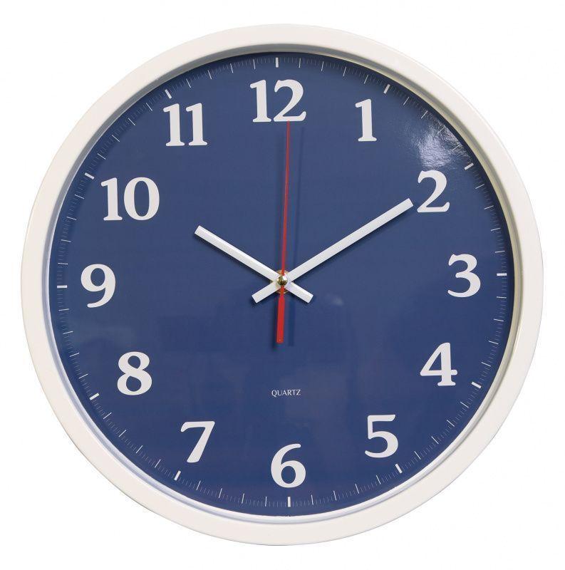 Часы настенные БЮРОКРАТ WALLC-R66P плавный ход белый