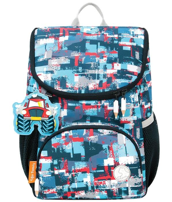 Рюкзак TIGER SMART KIDS BIG SHOT 33х26х16 см ткань для мальчиков