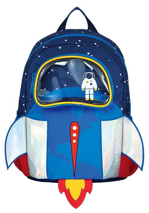 Рюкзак TIGER SMART KIDS BOB THE ASTRONAUT 26х20х15 см ткань для мальчиков