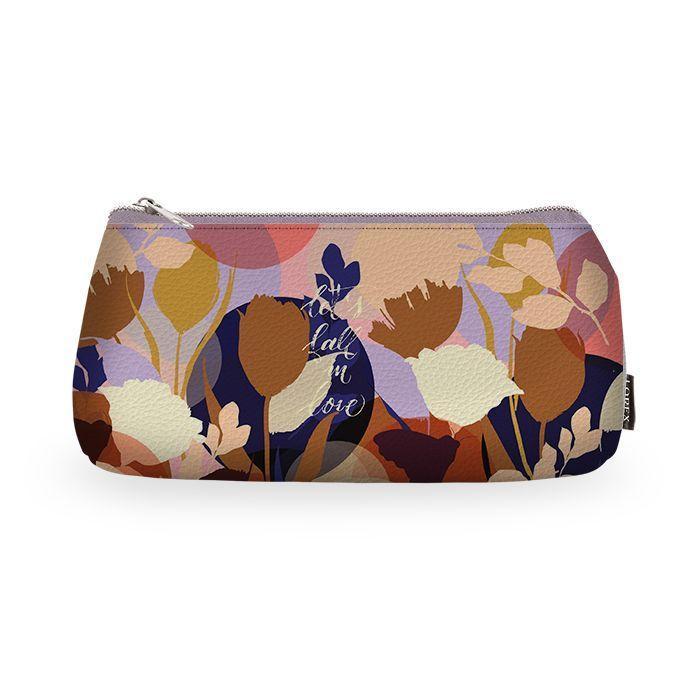 Пенал-косметичка LOREX PLANE STYLE, на молнии, серия SHINE LIKE A FLOWER
