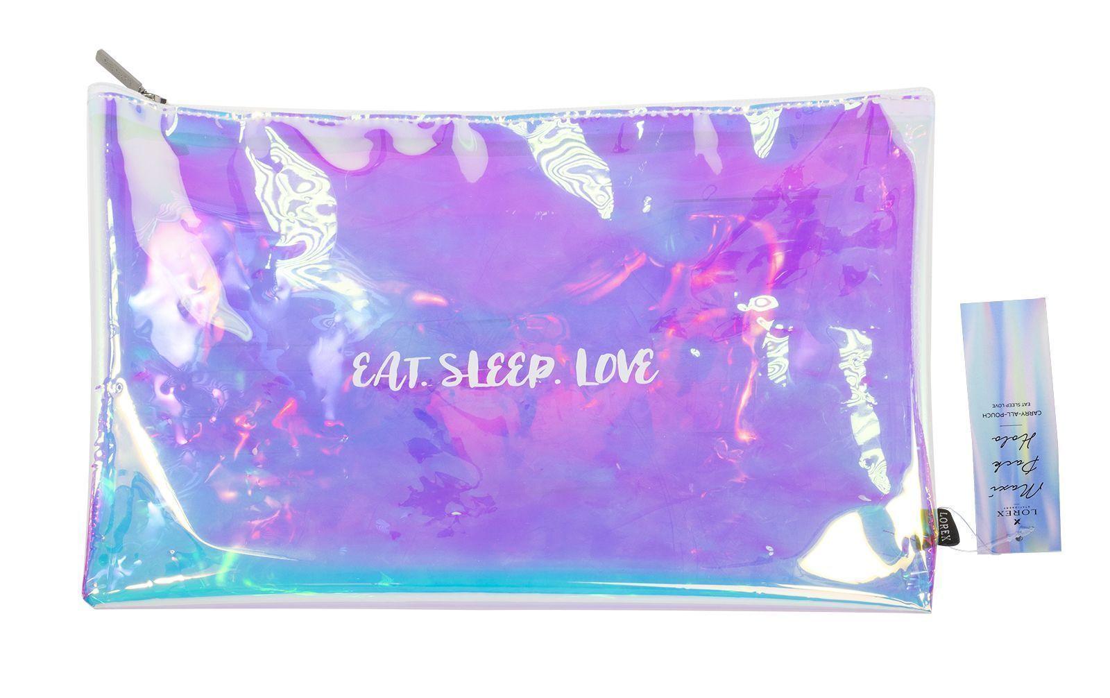 Папка для тетрадей LOREX MAXI PACK HOLO EAT SLEEP LOVE 25х34 см
