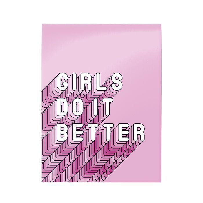 Блокнот Schoolformat А6 40 л, клетка GO GIRLS скрепка, мелованный картон, глянцевая ламинация