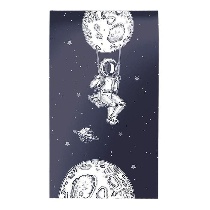 Блокнот Schoolformat А7 40 л, клетка, ПРИКЛЮЧЕНИЯ КОСМОНАВТА скрепка, мелованный картон, глянцевая ламинация